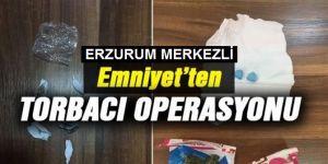 """Erzurum merkezli 3 ilde """"torbacı"""" operasyonu"""