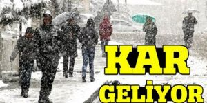 Doğu'da kar yağışı etkili olacak