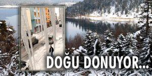 Doğu Anadolu kar yağışı ve soğuk hava etkili oluyor
