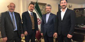 Almaz, İran Başkonsolosu Soltanzadeh'i ziyaret etti
