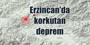Erzincan'da 4.3 şiddetinde deprem