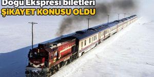 Doğu Ekspresi biletleri KDK'ya şikayet konusu oldu