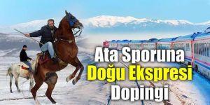 """Ata sporuna """"Doğu Ekspresi"""" dopingi"""