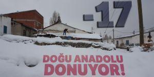 Doğu Anadolu'da soğuk hava!