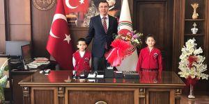 Erzurum adliyesine teşekkür ziyareti