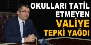 Erzurum Valisine tepki yağdı!