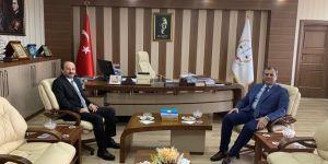 Rektör Prof. Dr. Bülent Çakmak'tan iade-i ziyaret