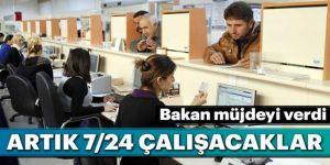 Belediyeler 7 gün 24 saat açık olacak