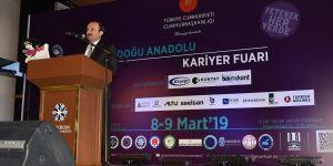 Doğu Anadolu Kariyer Fuarı görkemli bir açılışla başladı
