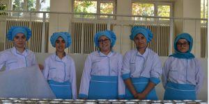 83 yıldır kız öğrencilere çeşitli branş ve dallarda eğitim veriliyor