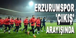 Erzurumspor 'çıkış' arayışında