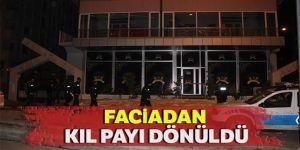 Erzurum'da Düğün salonunda asma tavan çöktü, f