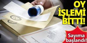 Doğu ve Güneydoğu'da oy verme sona erdi