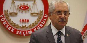 YSK Başkanı Sadi Güven'den yerel seçim açıklaması