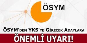 ÖSYM'den MSÜ adaylarına 'saat' uyarısı