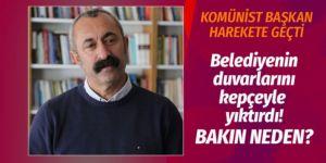 Tunceli'de seçimi kazanan 'Komünist Başkan' bakın ne yaptı