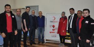 Erzurum Ticaret Borsası'ndan Kan Bağışı kampanyası