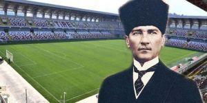 Belediye başkanı seçildi ilk iş stadın adını Atatürk Stadı olarak değiştirdi