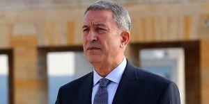 Bakan Akar'dan Yunanistan'a tepki