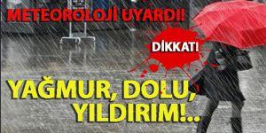 Erzurum'a dolu uyarısı