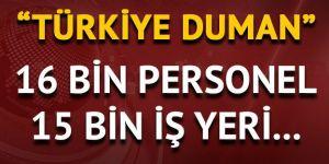 'Türkiye Duman' uygulaması yapıldı!