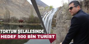 Tortum Şelalesinde hedef 500 bin turist