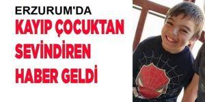 Kaybolan Berat'tan sevindirici haber geldi