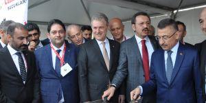 Cumhurbaşkanı Yardımcısı Fuat Oktay, Erzurum standını ziyaret etti