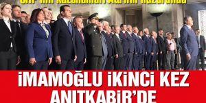 CHP'li tüm belediye başkanları Anıtkabir'de