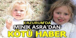 """Erzurum'da dereye düşen küçük """"Asra"""" boğuldu"""