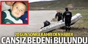 Erzurum'da kayıp çocuğun cesedine ulaşıldı: İşte son gelişmeler
