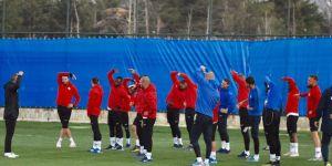 Erzurumspor, Yeni Malatyaspor maçı hazırlıklarına başladı