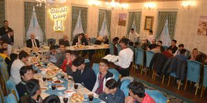 Devlet korumasındaki çocuklar iftar programında bir araya geldi
