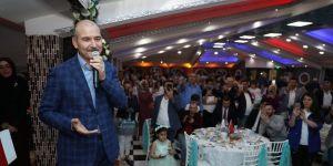Soylu: Bugün İstanbul'u veren, hukuksuzlukla beraber yarın Türkiye'yi verir