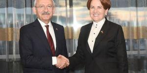 Kılıçdaroğlu ve Akşener'den İstanbul zirvesi!
