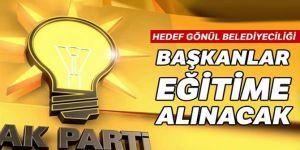 AK Parti, başkanları eğitime alacak