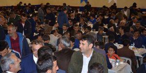 Çat'ta iftar programı büyük ilgi gördü