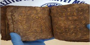 Mersin'de el yazması tarihi kitap ve yazıt ele geçirildi