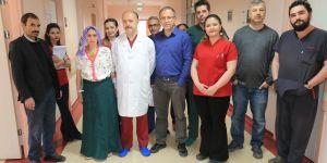 Erzurum BEAH 4 cm kesi ile aort kapağı değişti