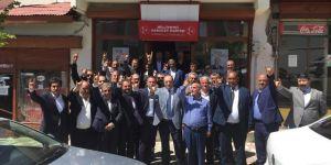 MHP Tekman ilçe teşkilatı 19 yıl aradan sonra görkemli bir törenle açıld