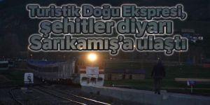 Turistik Doğu Ekspresi Erzurum'da