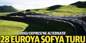 TCDD'den 28 euroya Sofya turu
