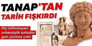 TANAP kazılarında 154  arkeolojik saha bulundu