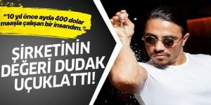 Erzurumlu Nusret Gökçe'nin şirketinin değeri dudak uçuklattı!