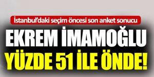 23 Haziran'daki İstanbul seçimi öncesi son anket sonucu!  Kaynak Yeniçağ: 23 Haziran'daki İstanbul seçimi öncesi son anket sonucu!