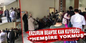 Erzurum Bölge Eğitim'de kan kuyruğu!