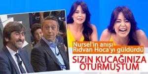 Nursel Ergin'in Rıdvan Dilmen anısı