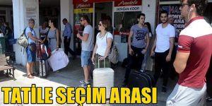 İstanbul seçmeni oy kullanmak için Antalya'dan ayrılıyor