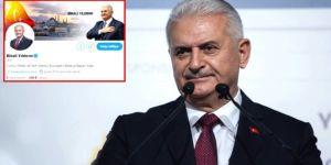 Binali Yıldırım Twitter'da bio'sunu değiştirdi