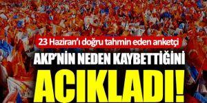 KONDA, AKP'nin neden kaybettiğini açıkladı!